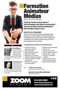 Formation Animateur Médias